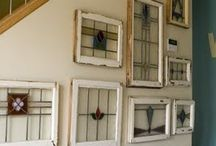 Re-Scape Windows, Doors & Shutters / Re-Scape takes a look at all the creative ways to recycle, repurpose, reuse and reimagine old windows, doors and shutters! / by Re-Scape.com