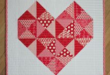 Quilting - Red and white Quilts