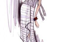 Эскизы-одежда