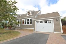 James Hardie Siding Project in Farmingdale, NY / This is our Current James Hardie Siding Project we just completed in Farmingdale, NY. The color choice here is Timber Bark.