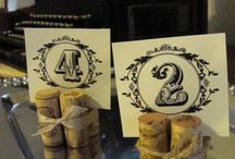 Wedding Table Numbers / by Autumn Studio