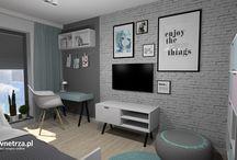 Pokój dziecka / Projekty wnętrz pokoju dziecka