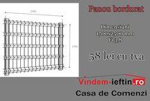 Panou bordurat - gard bordurat / Vindem-ieftin.ro - depozit materiale de constructii la cele mai mici preturi din tara.