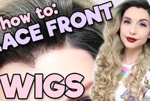 Lace Front Wig Making