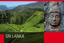 """Sri Lanka / In singalese significa """"terra benedetta"""". E benedette appaiono le sue incantevoli coste, cui fanno da contraltare le fitte foreste dell'entroterra, dove si estraggono pietre preziose."""