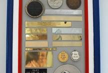 Trophy medal display / by JoAnn Kale