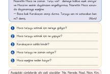 Türkçe etkinlikler
