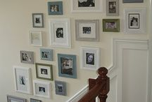 Gallery Wall  / Ideas on framing pictures  / by hlacharite⚓️