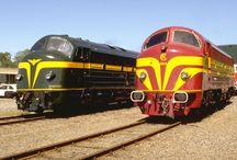♡ Nohab / Nejhezčí světová motorová lokomotiva NOHABka