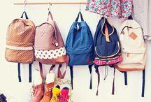 bags/packing / by Danielle Siegert