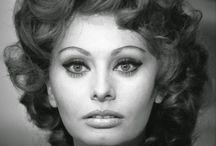 """Sophia Loren / Sophia Loren is the lead muse in the book Dreaming Sophia. Sophia in fact is named after """"la Loren""""."""