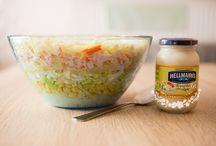 Saláty,pomazánky,jednohubky