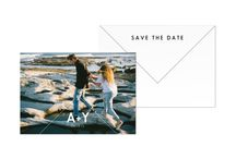 Save The Date Cards / Love these save the dates! So so cute to send to your friends & family.