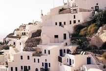 Santorini's Architecture / Featuring typical Cycladic architecture, Santorini is filled with whitewashed structures and cave-like houses, creating utterly unique setting. http://goo.gl/nuIp8w