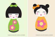 Kokeshi girl