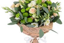Букет живых цветов