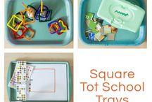 Tot Trays / Fun Tot Tray ideas!
