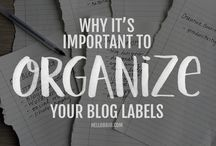 Blogging ::: organization, productivity, etc.
