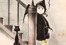 HALLOWEEN: Clipart / Images / Photographs / Vintage Postcards / Illustrations
