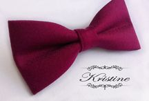 Bow Ties / https://www.etsy.com/people/kristinebridal?ref=si_pr
