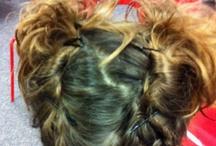 Little girl hairstyles / by Krystle Worley