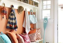 Mudroom. Entryways. Laundry. / decor and organization for mudrooms, entryways, and laundry room