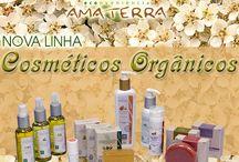 Cosméticos Orgânicos / AMA TERRA é uma empresa que acredita num futuro melhor, comercializando produtos sustentáveis e da Economia Solidária. AMA TERRA Produtos inspirados em Valores.