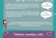 Infografikáim álláskeresőknek / Hasznos infografikák, a hatékonyabb álláskereséshez  #infografika #infographic