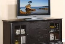 Drawer Wood TV Stands