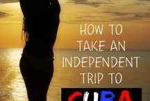 Cuba Travel / Heading to Cuba? Check out these travel tips on how to visit Cuba as American, how to get around Cuba, and things to see and do during our visit to Cuba!