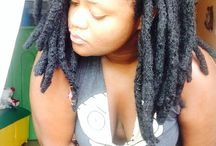 Thick locs - My new hair style