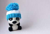 I like to do it / Panda wool, handmade