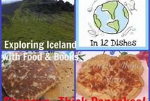 Iceland - Recipes / Recipe Ideas from Iceland for cooking with Kids. Around the World in 12 Dishes {March's featured Country for the first month of Season 3}