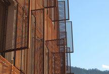 rusty facade