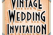"""All About """"Vintage Wedding Invitations"""""""