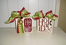 gift wrap ideas / by Tennile Bills