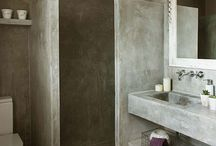 Concrete bathroom inspiration