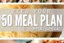 Meal Planning and Freezer Cooking / Take the stress out of meals with these great meal planning and freezer cooking ideas.