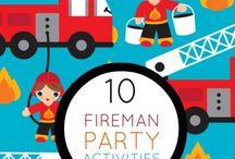 Fireman Sam birthsday party