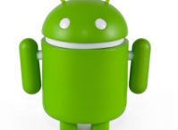 Green Android robots we love! :)