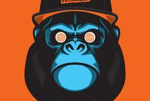 Apes and monkeys / Monkeys and apes