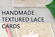 handmade textured lace