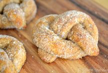 pretzel c/açúcar e canela