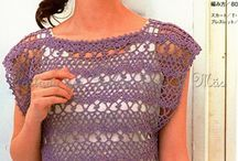 pasta de blusas de crochet