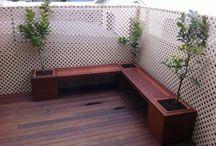 Merbu outdoor seating
