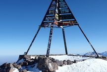 Mount Toubkal Morocco / At 4,167m, Mount Toubkal is the highest mountain in North Africa. The hike to the summit is challenging, but it requires no mountaineering experience and the panoramic view from his summit makes the hard work worthwhile.  More Details at :  http://typiquetours.com/mountain-toubkal-trek-2-days.html
