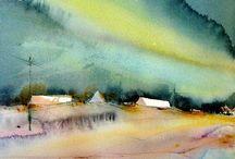 Watercolor / Watercolor painting