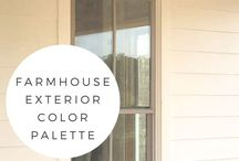 ⭐️ house color ex ⭐️ / by Pat Bo
