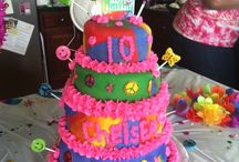 Taylor Made Confections / Chelsea's Tie Dye Cake
