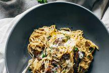 spaghetti recipes / by Melissa Rice Cox